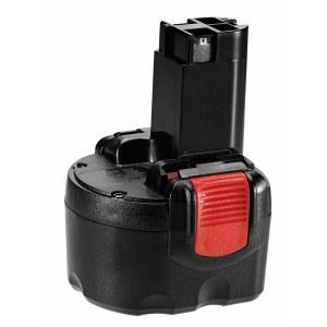 Akumuliatorius Bosch 2607335846; 9,6 V; 1,5 Ah; Ni-MH