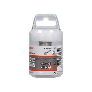 Deimantinė gręžimo karūna sausam pjovimui Bosch X-LOCK Ceramic Dry Speed; 20x35 mm