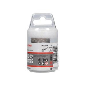 Deimantinė gręžimo karūna sausam pjovimui Bosch X-LOCK Ceramic Dry Speed; 32x35 mm