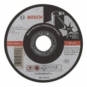 Abrazyvinis pjovimo diskas Bosch AS 46 T INOX BF; Ø115x2 mm