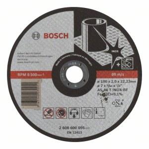 Abrazyvinis pjovimo diskas Bosch AS 46 T INOX BF; Ø180x2 mm