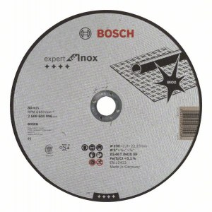 Abrazyvinis pjovimo diskas Bosch AS 46 T INOX BF; Ø230x2 mm