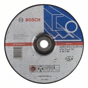 Šlifavimo diskas Bosch A 30 T BF; Ø230x8 mm