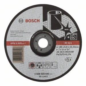 Šlifavimo diskas Bosch AS 30 S INOX BF; Ø180x6 mm