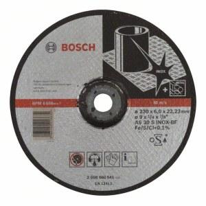 Šlifavimo diskas Bosch AS 30 S INOX BF; Ø230x6 mm