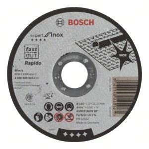 Abrazyvinis pjovimo diskas Bosch AS 60 T INOX BF; Ø115x1 mm