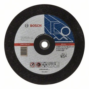 Abrazyvinis pjovimo diskas Bosch A30 R BF; Ø300x3,2 mm