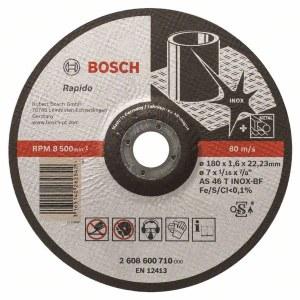 Abrazyvinis pjovimo diskas Bosch AS 46 T INOX BF; Ø180x1,6 mm