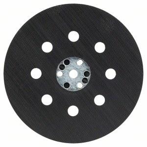 Šlifavimo padas ekscentr. šlifuokliui Bosch; Ø125 mm; vidutiniškai kietas; įrankiams PEX, modeliams gamintiems 2007-2011 m.