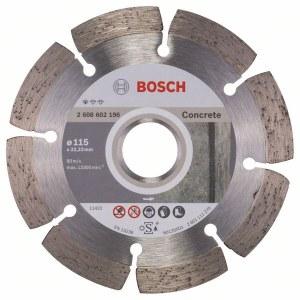 Deimantinis pjovimo diskas Bosch PROFESSIONAL FOR CONCRETE; Ø115