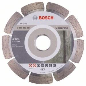 Deimantinis pjovimo diskas Bosch PROFESSIONAL FOR CONCRETE; Ø125