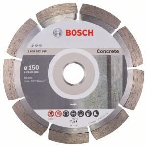 Deimantinis pjovimo diskas Bosch PROFESSIONAL FOR CONCRETE; Ø150