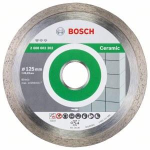 Deimantinis pjovimo diskas Bosch PROFESSIONAL FOR CERAMIC; Ø125