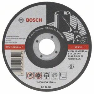Abrazyvinis pjovimo diskas Bosch A60 W BF 41; Ø115x1 mm