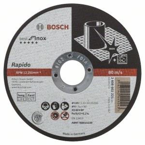 Abrazyvinis pjovimo diskas Bosch A60 W BF 41; Ø125x1 mm