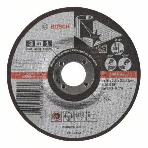 Pjovimo - šlifavimo diskas Bosch A46 S BF; Ø125x2,5 mm