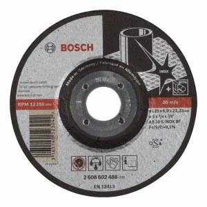 Šlifavimo diskas Bosch AS 30 S INOX BF; Ø125x6 mm