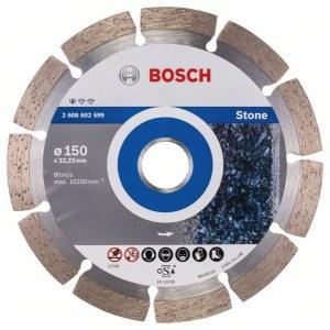 Deimantinis pjovimo diskas Bosch PROFESSIONAL FOR STONE; Ø150