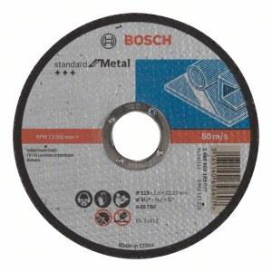 Abrazyvinis pjovimo diskas Bosch Standard; 115x1,6 mm