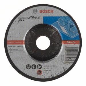 Šlifavimo diskas Bosch Standard; 125x6 mm
