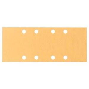 Šlif. popierius vibro šlifuokliui; Best for Wood; 93x230 mm; K80; 10 vnt.