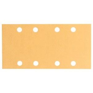 Šlif. popierius vibro šlifuokliui; Best for Wood; 93x186 mm; K80; 10vnt.