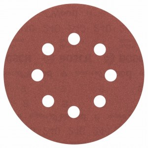 Šlif. popierius eksc. šlifuokliui; Expert for Wood; Ø125 mm; K240; 5 vnt.