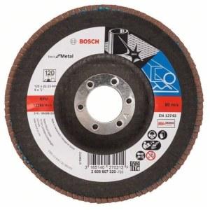 Vėduoklinis šlifavimo diskas Bosch2608607320; 125 mm; K120