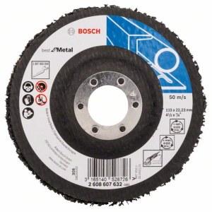 Veltinio diskas valymui Bosch Best for Metal; Ø115 mm; 1 vnt.
