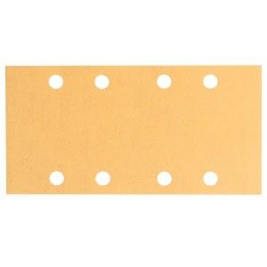Šlif. popierius vibro šlifuokliui; Best for Wood; 93x186 mm; K120; 50 vnt.