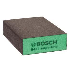 Šlifavimo kempinė Bosch Flat&Edge; 69x97x26 mm; P320-500