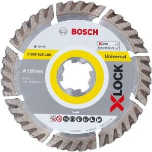 Deimantinis pjovimo diskas Bosch XLOCK Standard fUniversal; 125mm