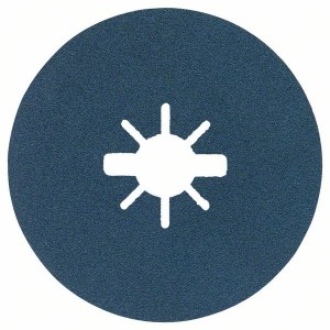 Šlif. popierius kamp. šlifuokliui Bosch Best for Metal; Ø125 mm; P100