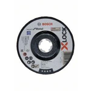 Šlifavimo diskas Bosch Expert for Metal X-LOCK; Ø125x6,0 mm