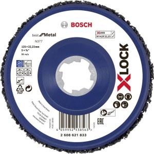 Veltinio diskas valymui Bosch X-LOCK N377 Metal; 125 mm
