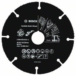Pjovimo diskas medienai pjauti kampiniu šlifuokliu Bosch 2608623013; 125x1 mm