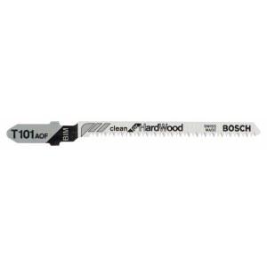 Pjūkleliai siaurapjūkliui Bosch T 101 AOF kietmedžiui; 5 vnt