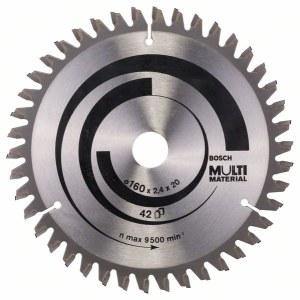 Pjovimo diskas medienai Bosch MULTI MATERIAL Ø160 mm
