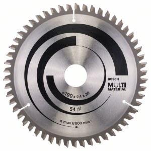 Pjovimo diskas medienai Bosch MULTI MATERIAL Ø190 mm