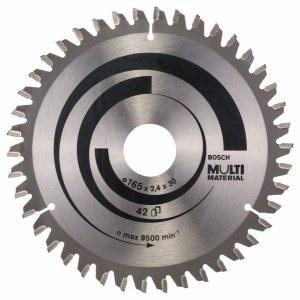 Pjovimo diskas medienai Bosch MULTI MATERIAL Ø165 mm
