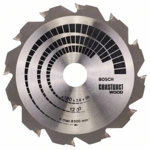 Pjovimo diskas medienai Bosch; CONSTRUCT WOOD; Ø180 mm