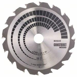 Pjovimo diskas medienai Bosch; CONSTRUCT WOOD; Ø230 mm