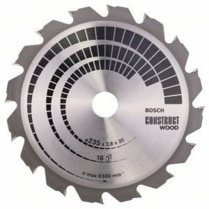 Pjovimo diskas medienai Bosch; CONSTRUCT WOOD; Ø235 mm