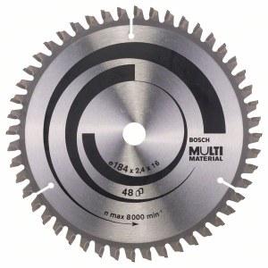 Pjovimo diskas medienai Bosch MULTI MATERIAL Ø184 mm