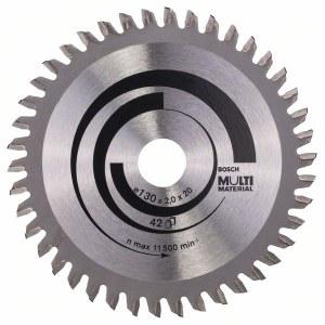 Pjovimo diskas medienai Bosch MULTI MATERIAL Ø130 mm