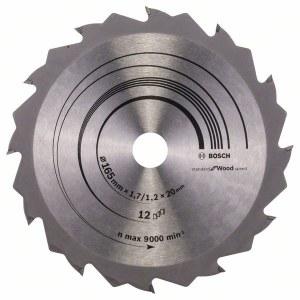 Pjovimo diskas medienai Bosch Speedline Wood; Ø165 mm
