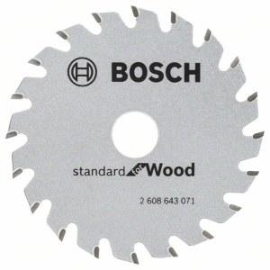 Pjovimo diskas medienai Bosch; Ø85 mm