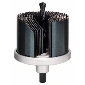 7 dalių gręžimo karūnėlių rinkinys Bosch 2609255636; 26-64 mm