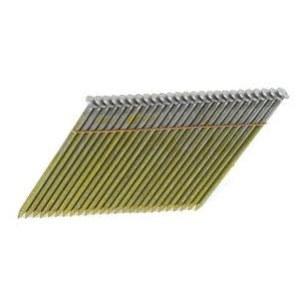 Vinys Bostitch; 3,1x90 mm; 28°; 2000; vnt.; rifliuotu koteliu; galvanizuoti