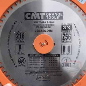 Pjovimo diskas metalui CMT 226.556.09M; d=216 mm